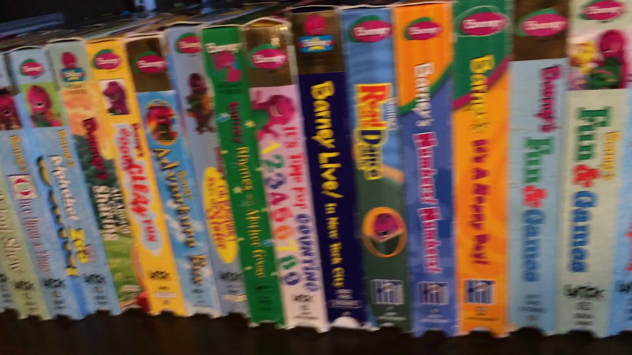 My Barney VHS/DVD Collection Part 1 - clipzui.com