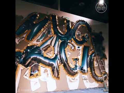 HUGE!   3D Balloon Graffiti fb