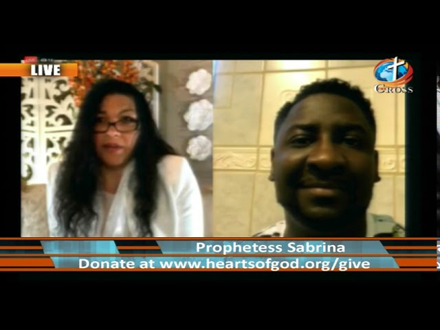 Prophetess Sabrina M. Evans ( it's Supernatural it's Real ) 05-01-2019