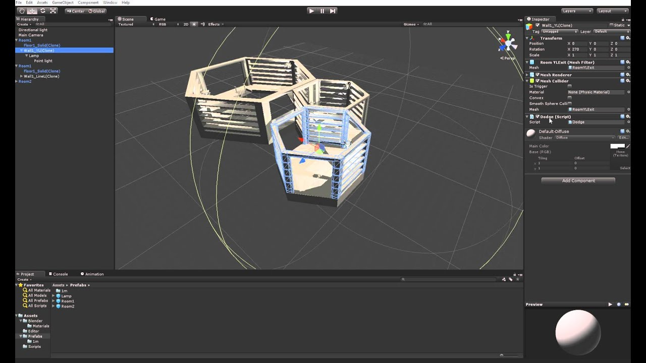 Snap-To in Unity