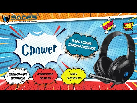 SADES CPOWER | MULTIPLATFORM GAMING HEADSET