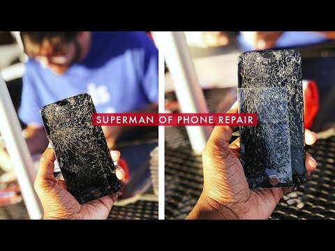 Meeting the Superman of Cell Phone Repair! (Puls)