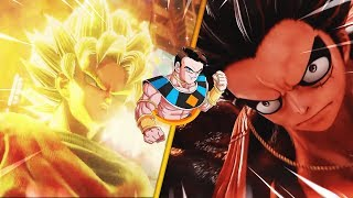 🔥GUERRA de ANIMES! Goku vs Luffy|Dragon Ball vs One piece🔥Jump Force