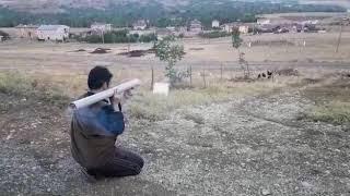 bazuka kazası 2 -- an accident with home made bazooka 2