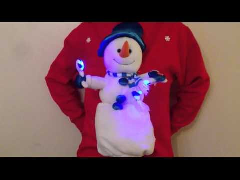 Christmas Jumper Sweater Novelty Musical, Singing and Dancing