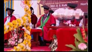 D.S. Kulkarni gets Honorary doctorate Degree from Pravara Institute of Medical Sciences