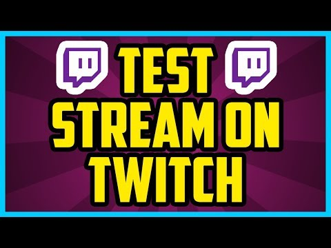 Obs studio test stream
