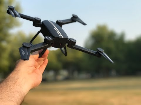 BEGINNER DRONE with FPV - X8TW SKYHUNTER Foldable RC Pocket Drone