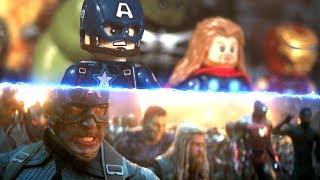 LEGO Avengers Endgame Avengers Assemble Side by Side Comparison