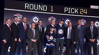 Jets pick Kristian Vesalainen with 24th pick