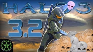WRAITH CANNON TEAM KILL - Halo 3: LASO Part 3.2 | Let