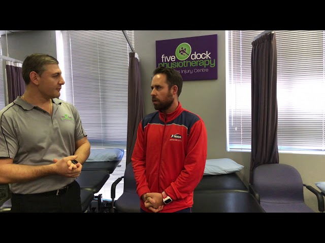 Vision PT Interview Matt Wehbe Owner of Five Dock Physiotherapy & Sports Injury Centre