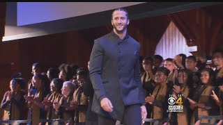 Colin Kaepernick Receives Harvard Black Culture Award