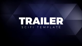 Trailer Titles Sci-fi After Effects Templates