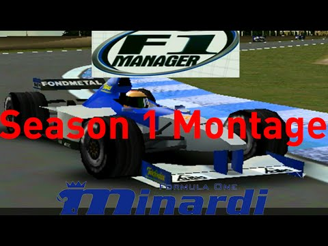 F1 Manager: Minardi Manager Career - Season 1 Montage