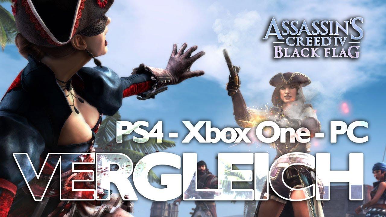 Assassins Creed 4 Black Flag Xbox One Vs Ps4 Vs Pc Im