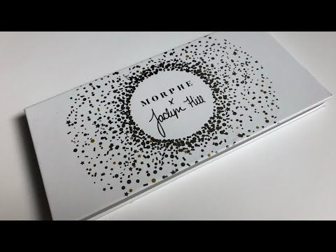 Morphe X Jaclyn Hill Armed and Gorgeous Palette Live Swatches thumbnail