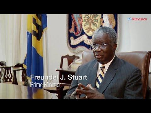 US Television - Barbados 2 - Interview with Freundel J. Stuart