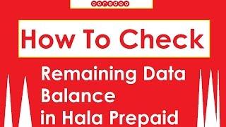 Check Remaining Balance in Hala Ooredoo Qatar screenshot 3