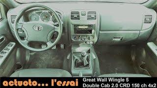 Actuoto: Great Wall Wingle 5, un sérieux allié. L'intérieur (2/3) قريت واال-وينقل