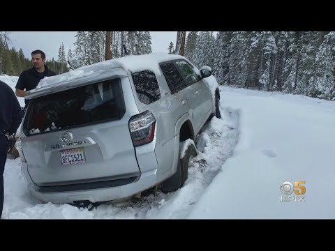 Keith, Tony & Kat - Woman Found Alive In Snow-Covered SUV After Six Day Search