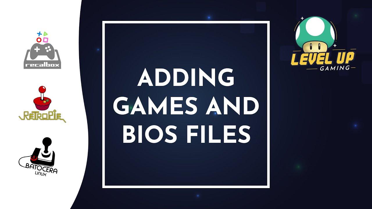 How to install BIOS & ROMs - (Batocera, RecallBox) - Retro Gaming