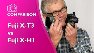 Fujifilm X-T3 vs X-H1 - detailed comparison in 4K