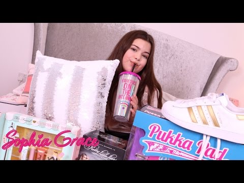 WHAT I GOT FOR CHRISTMAS - 12 DAYS OF CHRISTMAS (Day 12) SOPHIA GRACE