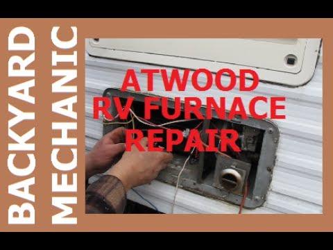 BACKYARD MECHANICS - Atwood RV Furnace Repair