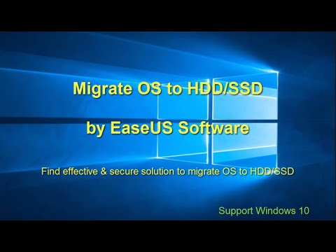 easeus migrate to ssd