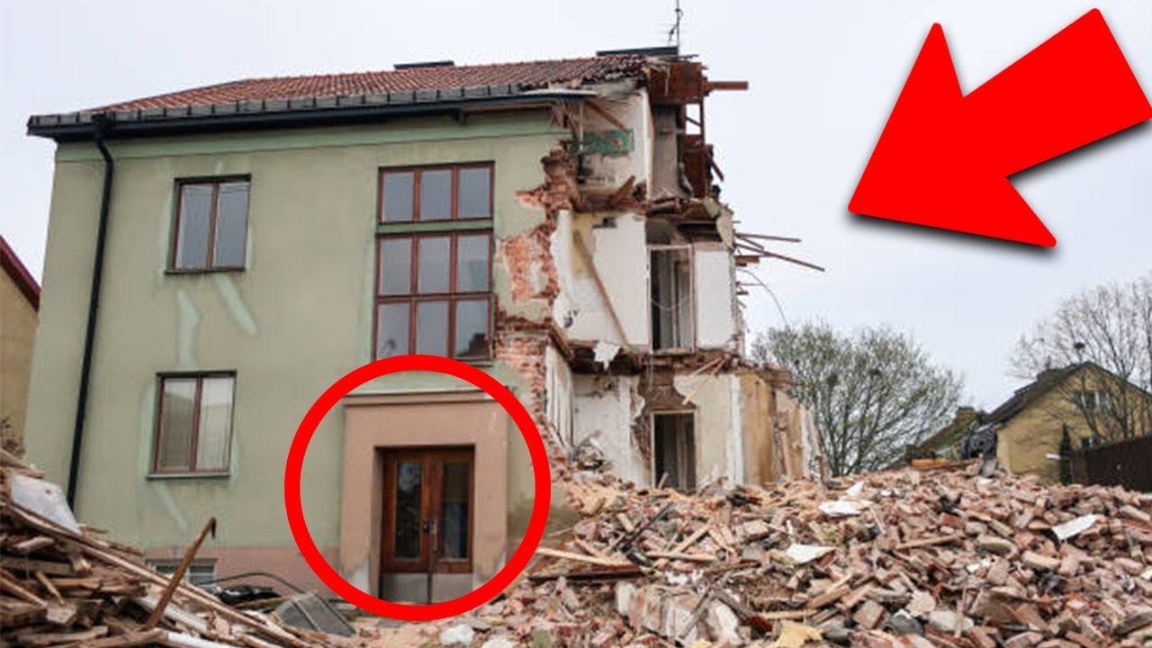 Femeia a intrat într-o casă distrusă, Iar ceea ce s-a întâmplat mai târziu este greu de explicat!