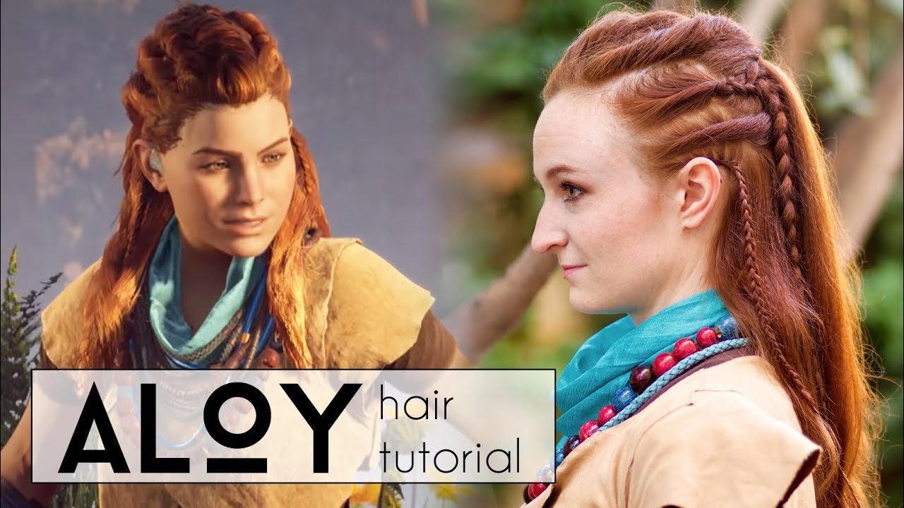 Hair Tutorial For Aloy In Horizon Zero Dawn Youtube