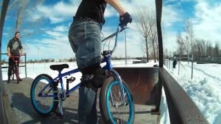 BMX WEBEPISODE @20 #BMX #Halfpipe #Trois-Rivieres @skatepark @Winter Ride #TOTALBMX