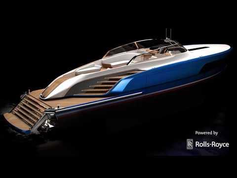 65 feet Aeroboat S6 yacht | powered by Rolls Royce