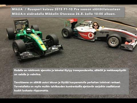 F1-10 Pre Season test session