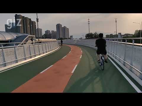 Elevated 'cycling only' highway in Beijing