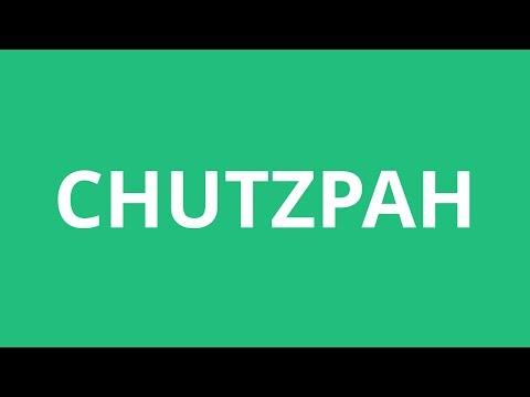 How To Pronounce Chutzpah  Pronunciation Academy