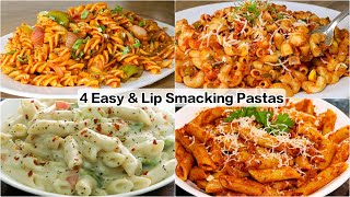 4 Quick & Creamy Indian Style Pasta Recipes | Weekend Special Recipe
