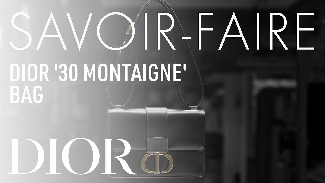 The new Dior 30 Montaigne : Savoir-Faire