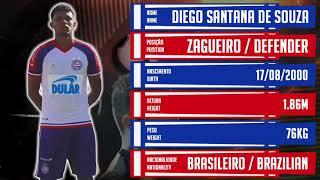 ⚽ DIEGO TALISCA / ZAGUEIRO / Diego Santana de Souza