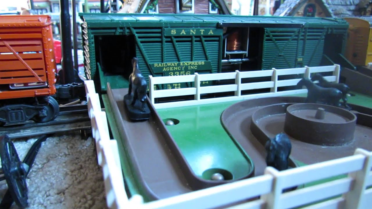 Lionel 3356 horse corral the 3656 cow corral youtube lionel 3356 horse corral the 3656 cow corral cheapraybanclubmaster Gallery
