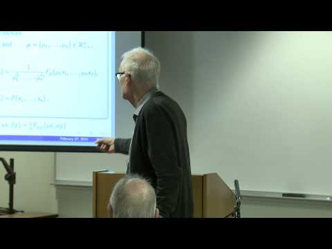 "Jean Claude Falmagne - ""Deriving meaningful scientific laws from abstract..."""