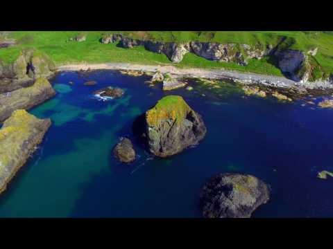 The Elephant Rock, Cliff Jumping, Ballintoy, Northern Ireland