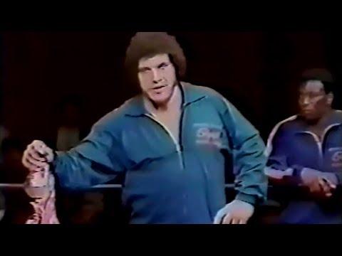 Andre the Giant vs. Strong Kobayashi  IWE 561972
