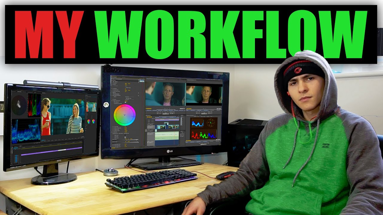 How To Professionally Edit YouTube Videos  | My Workflow