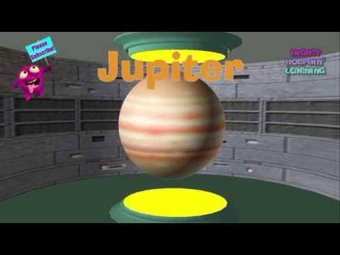 Kids Learn The Planets | Solar System Rocket Tour For Toddlers | Mighty Morphin' Learning