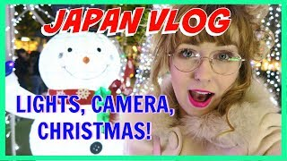 ♡ JAPAN VLOG | NAGOYA STATION ♡ Lights, Camera, Christmas!