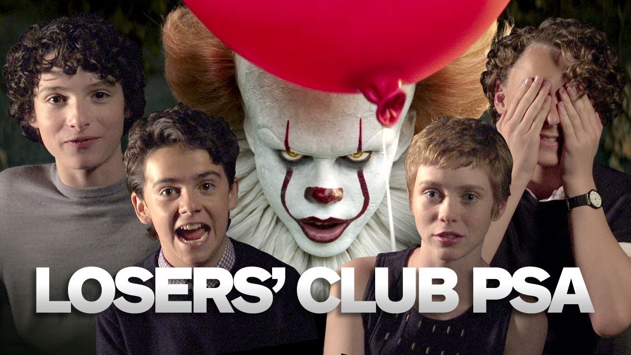 An Important Message From The Cast of IT