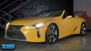 homepage tile video photo for Lexus LC500 Review! The Amazing Car Nobody Cares About