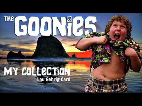 Review 2 The Goonies Movie Collection Lou Gehrig Collector Card